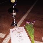 Francos Pokal und Urkunde, 1. Platz gesamt