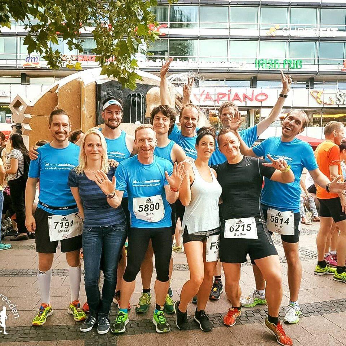 Die Laufgruppe Dresden auf Klassenfahrt nach Berlin