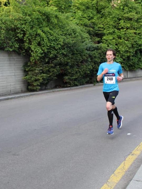 Halbmarathon in Karlsbad