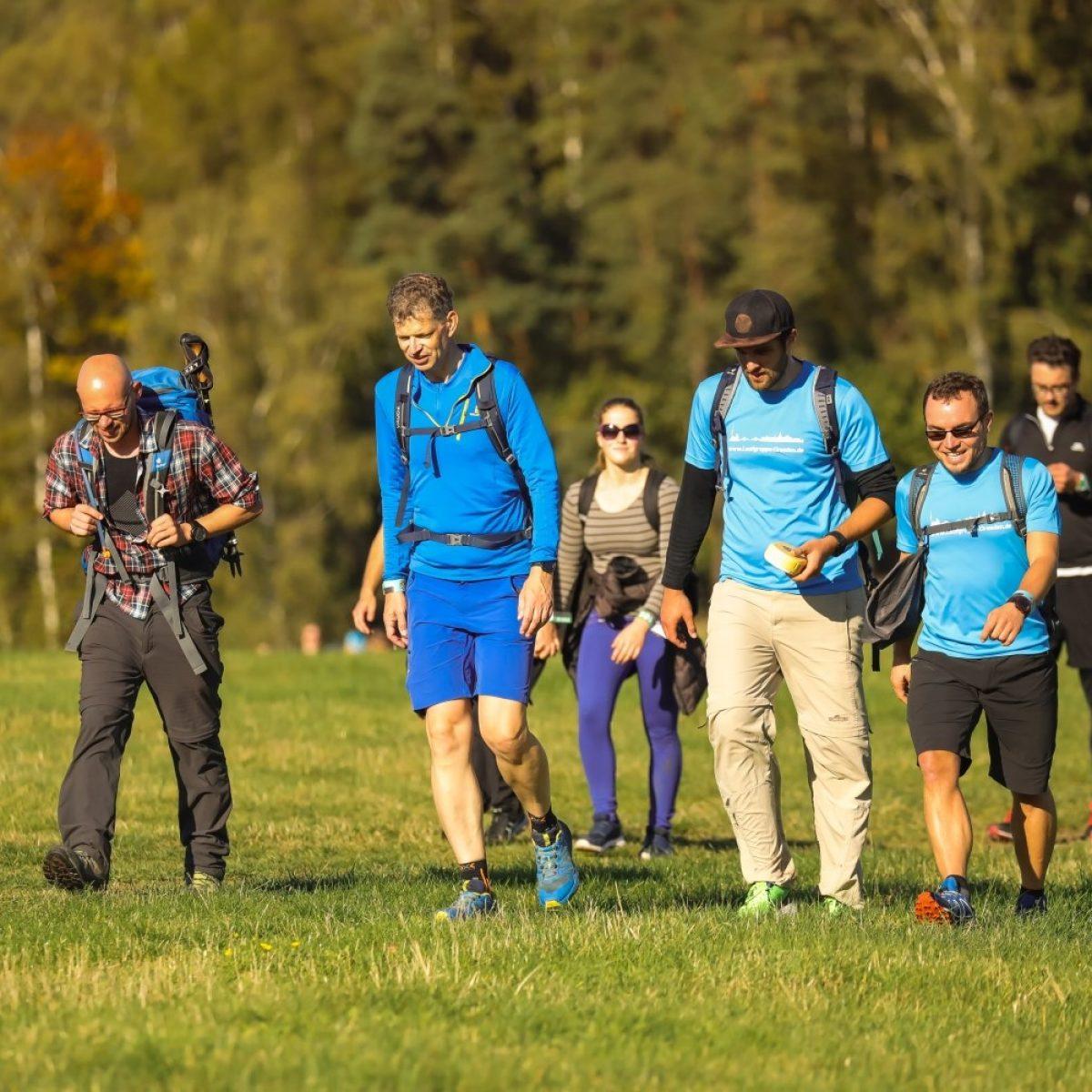 Wandern mit der Laufgruppe Dresden