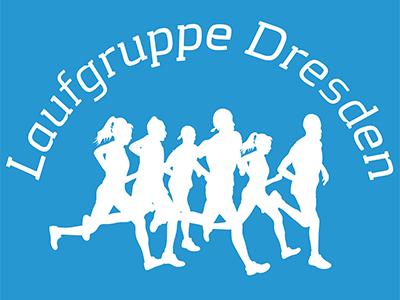 Logo der Laufgruppe Dresden, Breite 400px